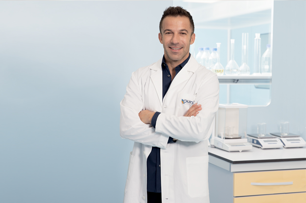 On air the new Guna campaign with Alex Del Piero by Glebb&Metzger Group