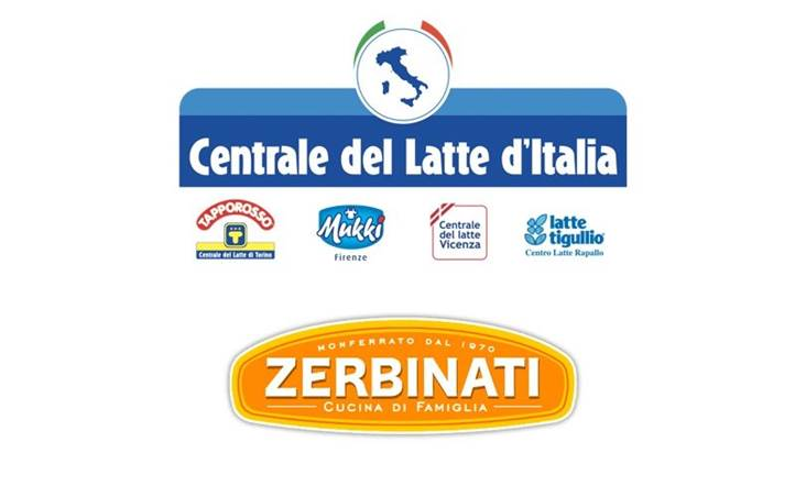 Alongside Zerbinati for the strategic agreement with Centrale del Latte d'Italia