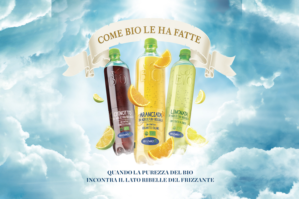 Glebb&Metzger Group signs the new communication campaign for Recoaro Bio Drinks